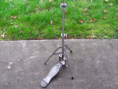 Crash Boom Bam Drum Accessories Vintage Hi Hat Stands