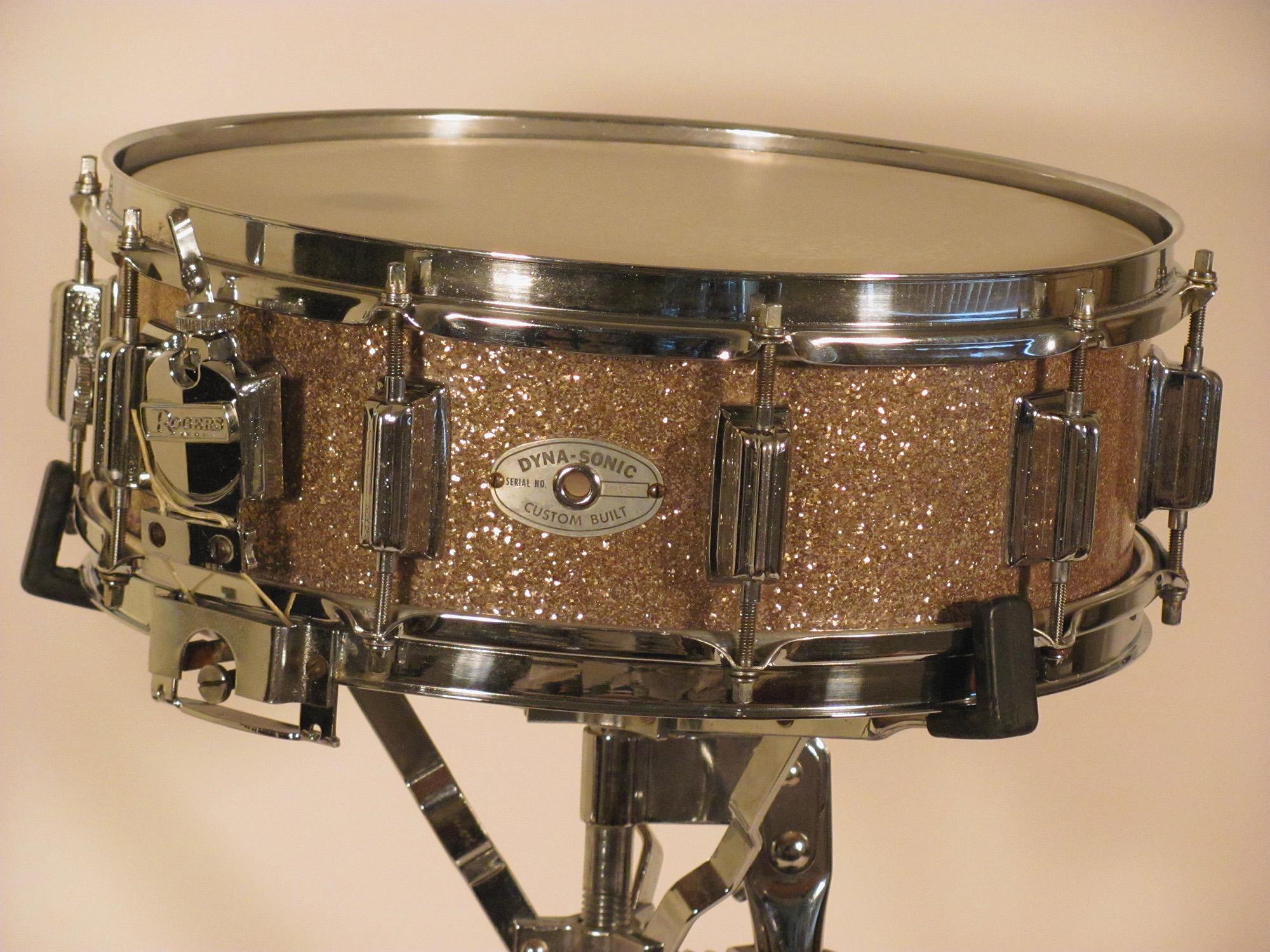 Crash Boom Bam - Rogers Snare Drums